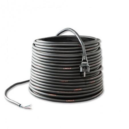 Aansluitsnoer 250V 3 m 2 x 2,5 mm² H07RN-F