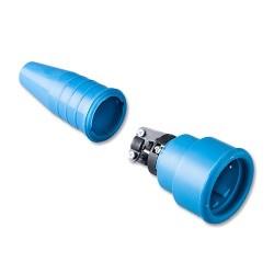 Volrubber koppelcontactstop 522 geheel blauw