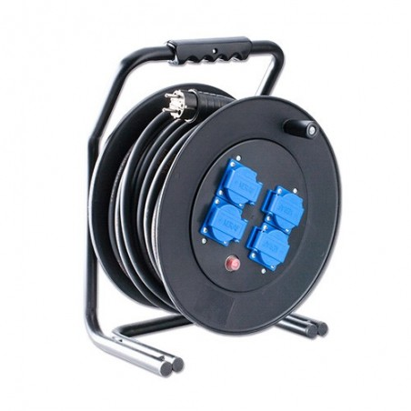 Kabelhaspel 250V 25m 3x1,5 mm² H07RN-F