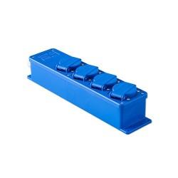 Snoercentrale type 15BKV blauw